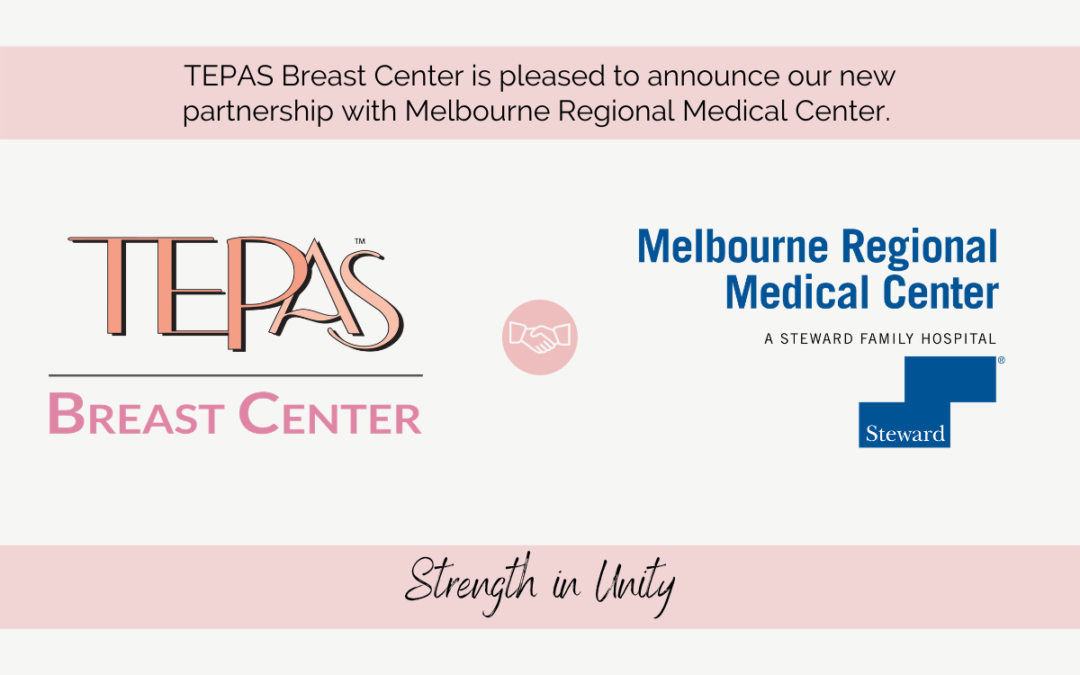 Melbourne Regional Medical Center Forms Partnership with Tepas Breast Center
